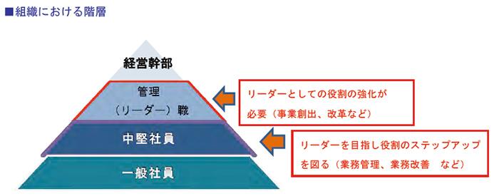 組織における階層