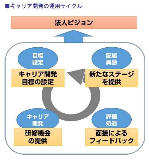キャリア開発の運用サイクル