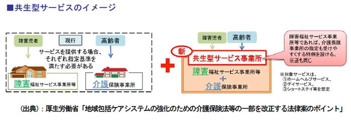 共生型サービスのイメージ