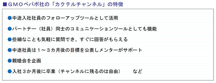 GMOペパボ社の「カクテルチャンネル」の特徴