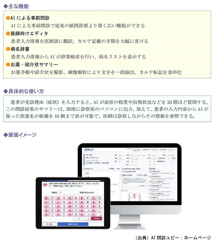 主な機能、具体的な使い方、画面イメージ